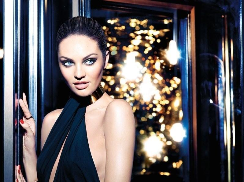 Candice Swanepoel wows in new Max Factor Christmas campaign