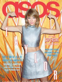 Taylor Swift shines on the cover of ASOS magazine