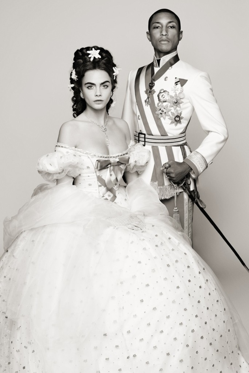 Cara Delevingne & Pharrell star in new Chanel film