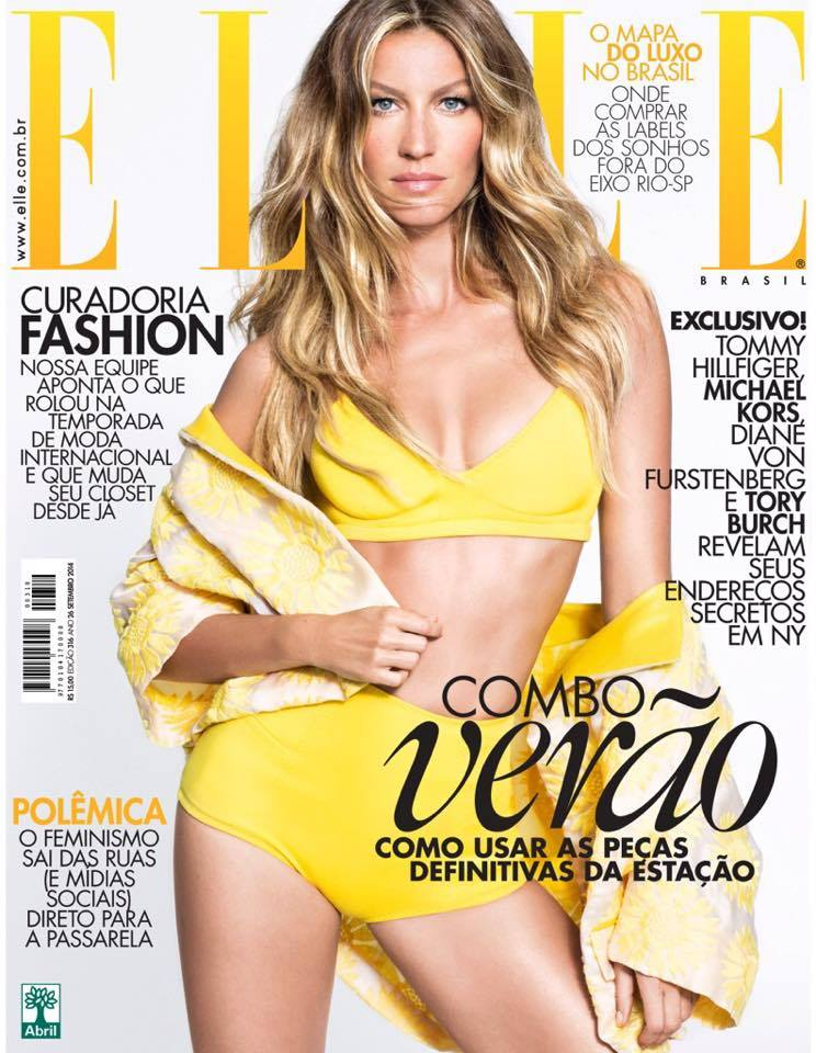 Gisele Bundchen Is A Vision Of Perfection For Elle Brazil�s November 2014 Cover