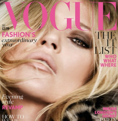 Kate Moss Scores 36th Vogue Cover