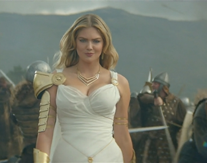 Kate Upton wants you to come play with her
