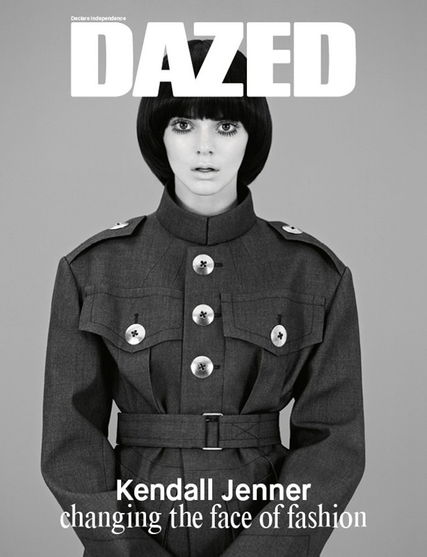 Kendall Jenner is unrecognisable but incredible on cover of Dazed Magazine