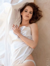Lana Del Rey poses semi naked for Maxim