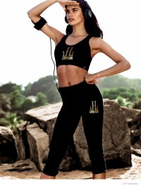 Sara Sampaio is Alluring in Lipsy Sportswear Collection Campaign