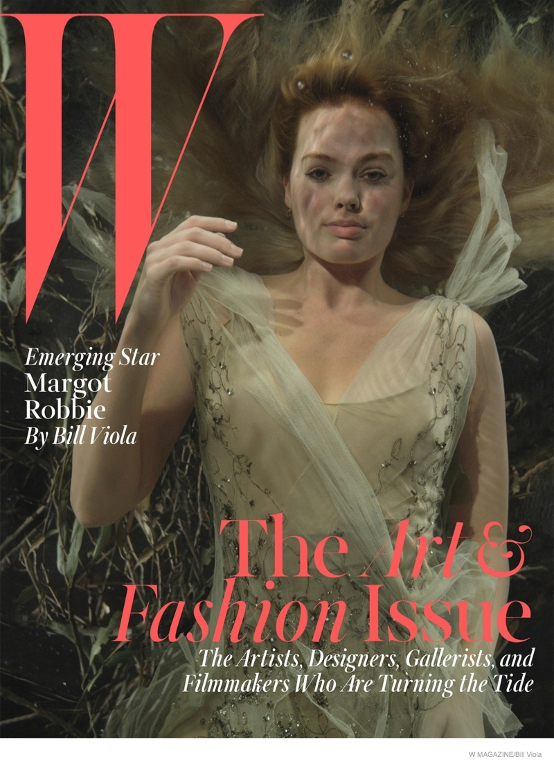 Margot Robbie Is A Bathing Beauty For W Magazine's Art Issue