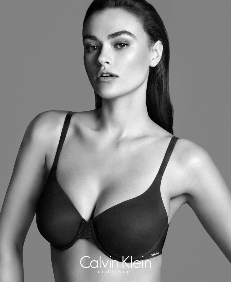 Calvin Klein\'s plus-sized controversy over size 10 Model Myla Dalbesio is tacky
