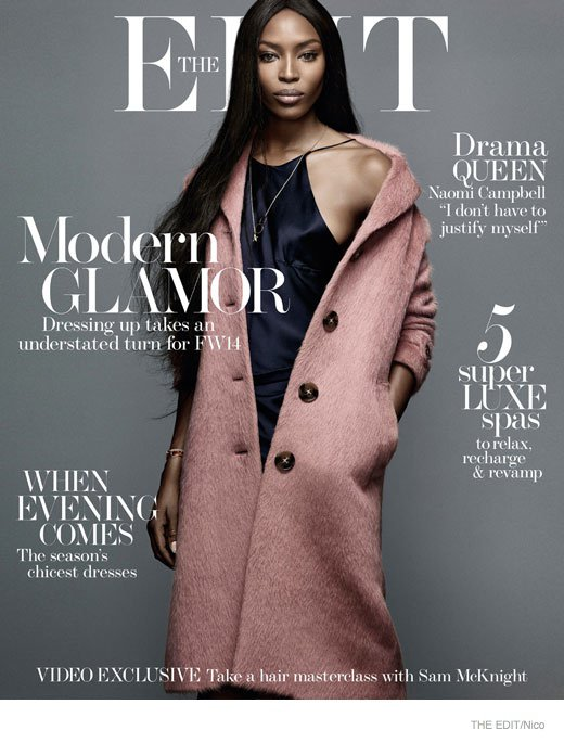 Naomi Campbell Covers The Edit Magazine, Reflects On Her Modelling Career