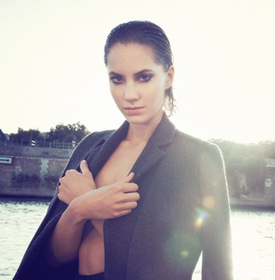 Audrey Hepburn\'s granddaughter, Emma Ferrer signed by Storm Models