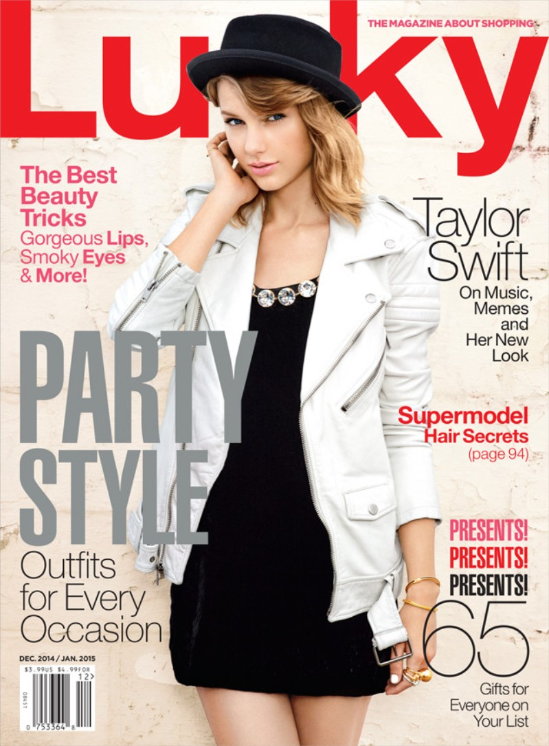 Taylor Swift Covers Lucky Mag