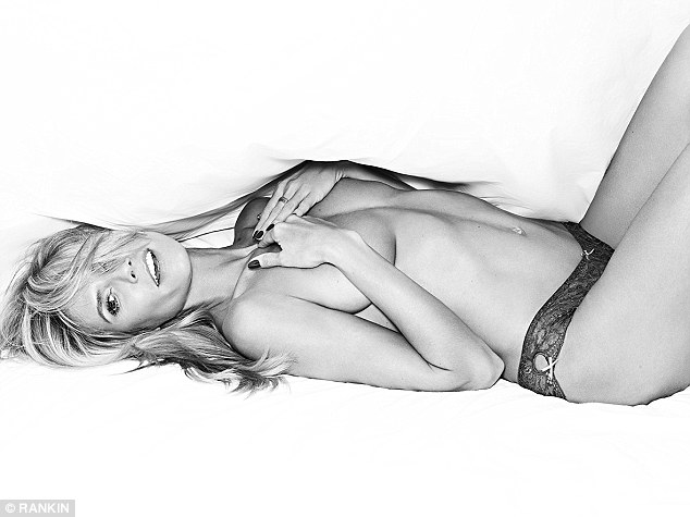 Heidi Klum Goes Topless In Racy HK Intimates Campaign