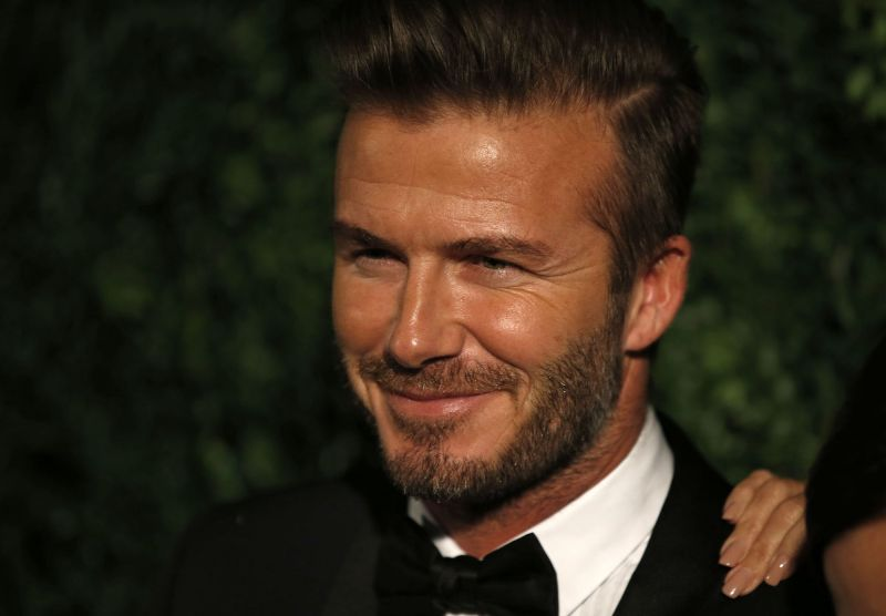 David Beckham To Launch His Lifestyle Brand