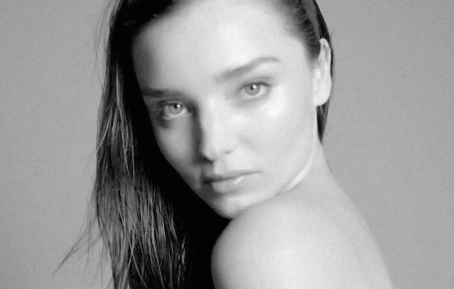 Miranda Kerr Strips Off For Love Magazine's Advent Calendar