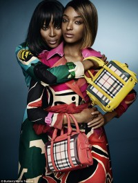Naomi Campbell and Jourdan Dunn front new Burberry campaign