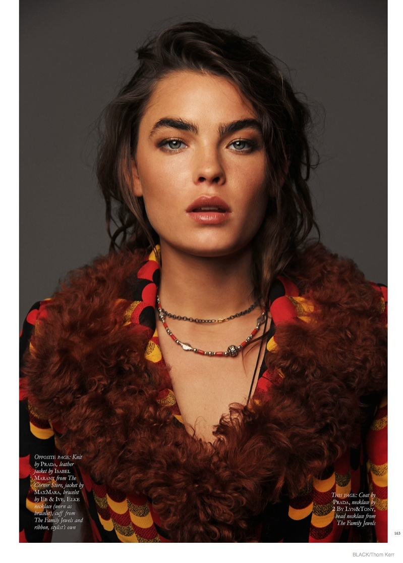 Bambi Northwood-Blyth Shoots For Black Magazine