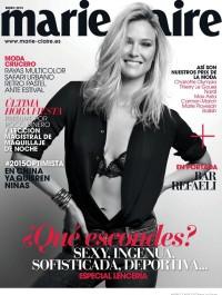 Bar Refaeli covers Marie Claire Spain January 2015