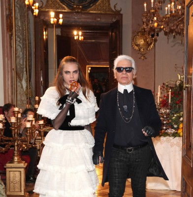 Chanel Rocks Salzburg for Metiers d\'Art show