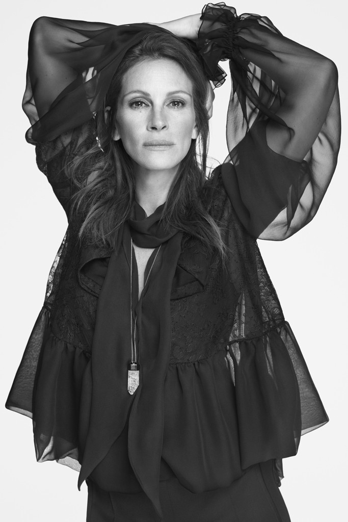Julia Roberts Fronts Givenchy Spring 2015 Campaign