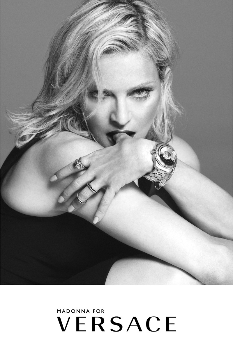 Madonna Wows In Versace Campaign