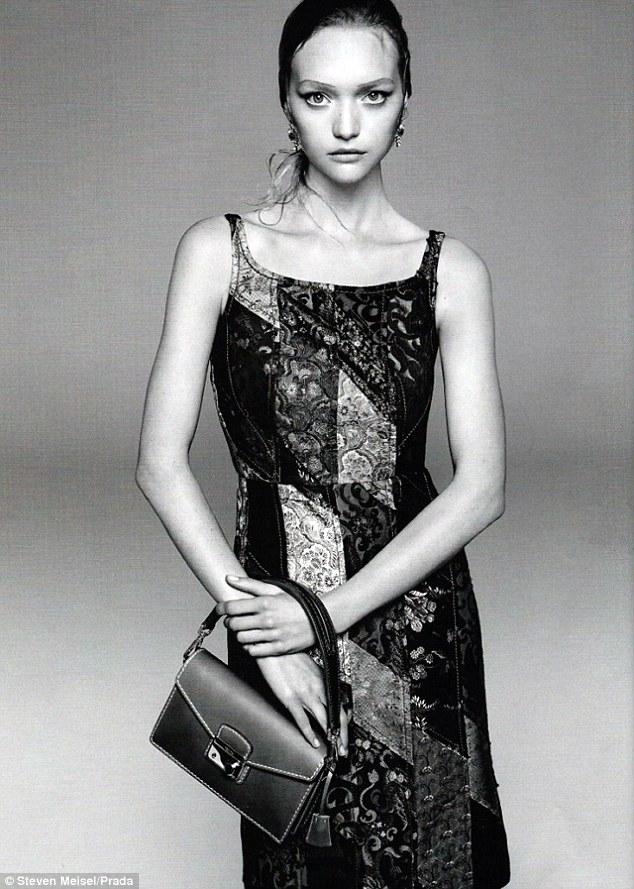 Gemma Ward Fronts Prada\'s Spring 2015 Campaign
