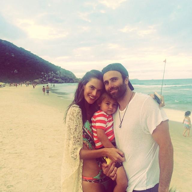 Alessandra Ambrosio enjoys family vacation in Brazil