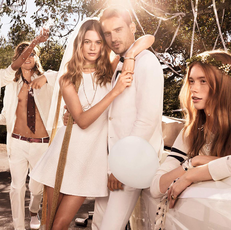 Behati Prinsloo ties the knot for Tommy Hilfiger campaign