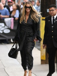 Elle Macpherson looks spot-on as she takes to television appearance