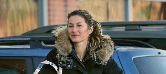 Gisele Bundchen steps out sans makeup after working up a ...