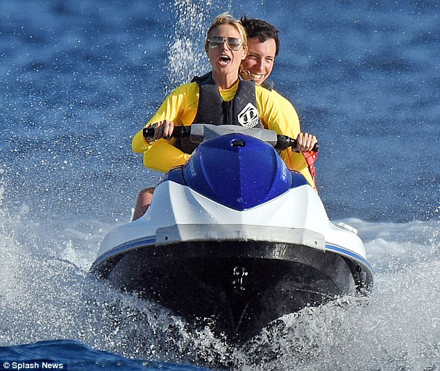 Heidi Klum hits the waves of St. Barths during New Years vacation
