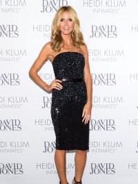 Heidi Klum shines at dinner gala to celebrate her intimates line