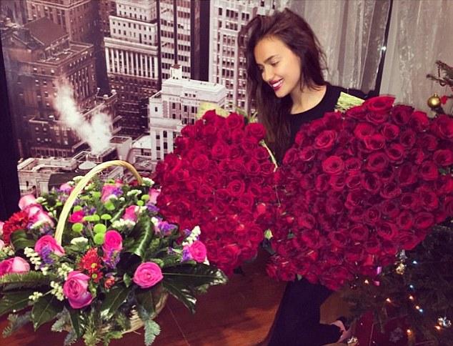 Irina Shayk turns twenty-nine