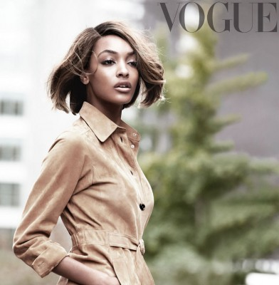 Jourdan Dunn opens up to Vogue UK about being a model mom