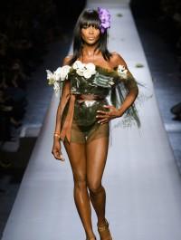 Naomi Campbell closes Jean Paul Gaultier HC show