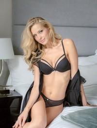 Petra Nemcova smolders in new Ultimo lingerie campaign