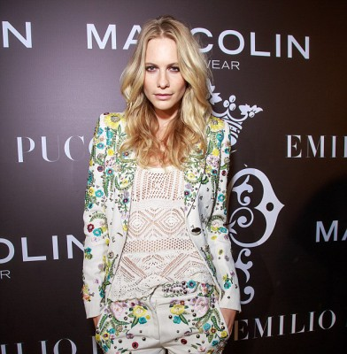 Poppy Delevingne wows in embellished pantsuit at Emilio Pucci event