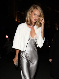 Rosie Huntington-Whiteley attends M&S fragrance launch dinner
