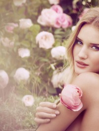 Rosie Huntington-Whiteley graces her fragrance campaign for M&S