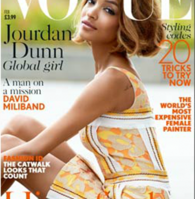 Jourdan Dunn makes Vogue history