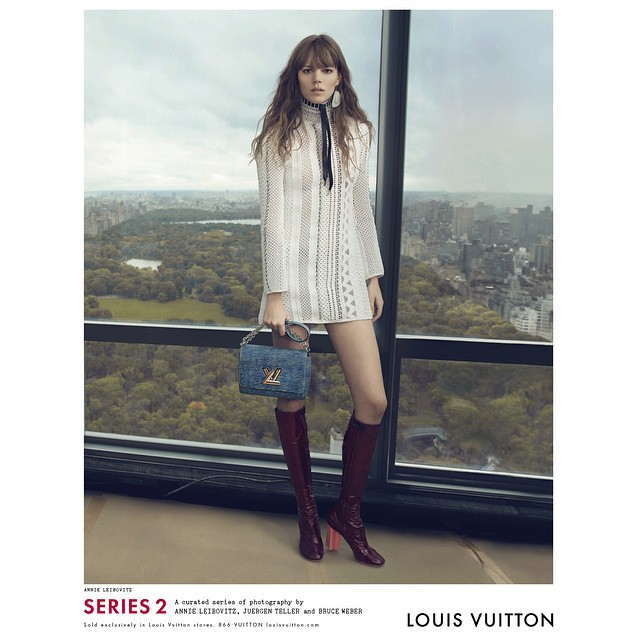 Louis Vuitton reveals spring 2015 ad campaign on Instagram