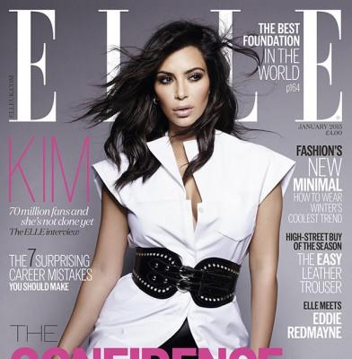 \'Elle\' UK Editor Defends Kim Kardashian Cover