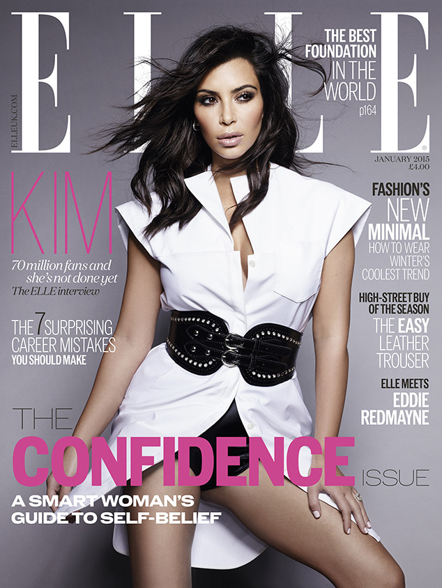 \'Elle\' UK Editor Defends Kim Kardashian Cover