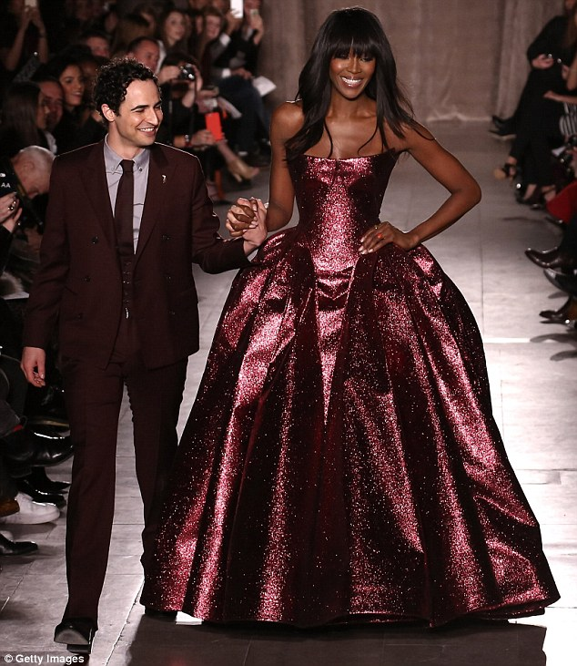 Naomi Campbell Steals The Show At NYFW