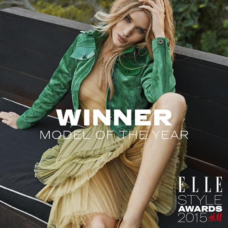 Rosie Huntington-Whiteley Is Elle UK\'s Model Of The Year