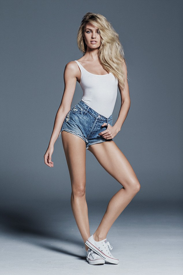 Candice Swanepoel creates charity denim collection