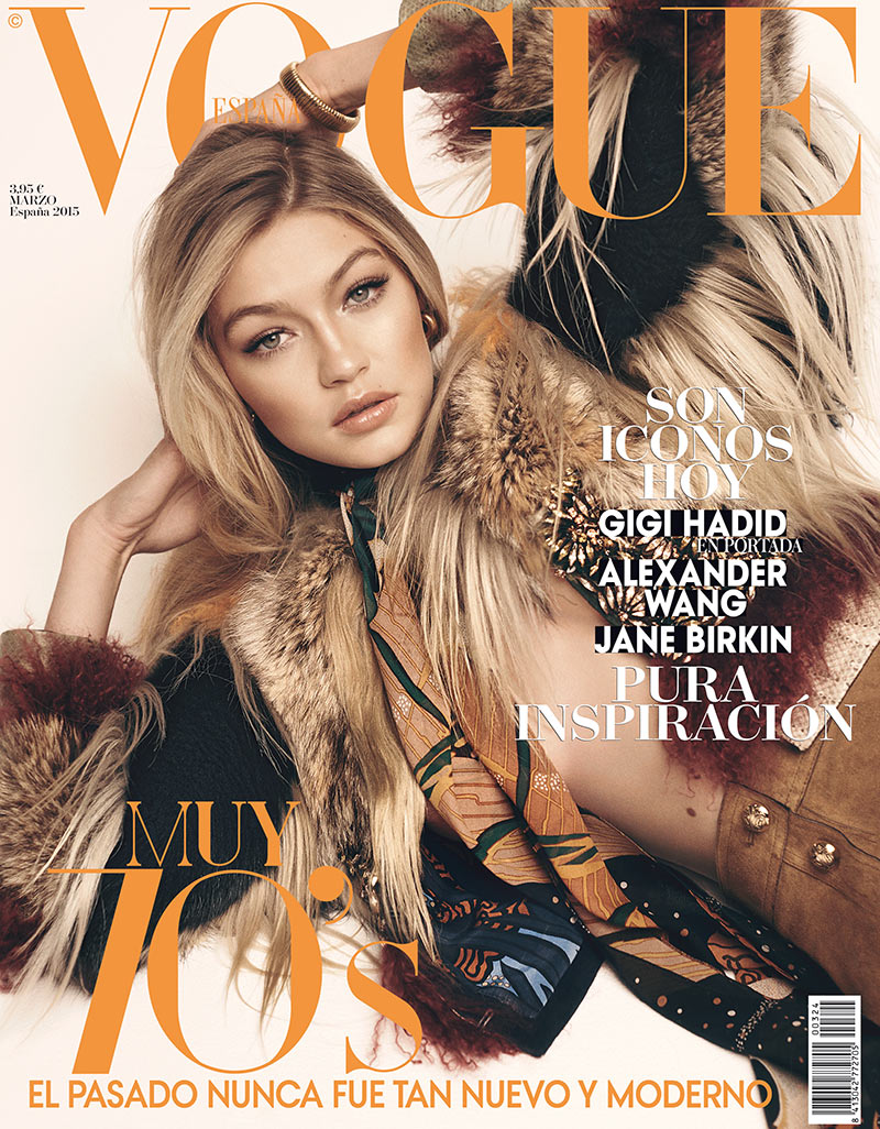 Gigi Hadid lands her first-ever Vogue cover