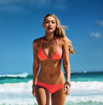 Gigi Hadid sizzles in new Seafolly campaign
