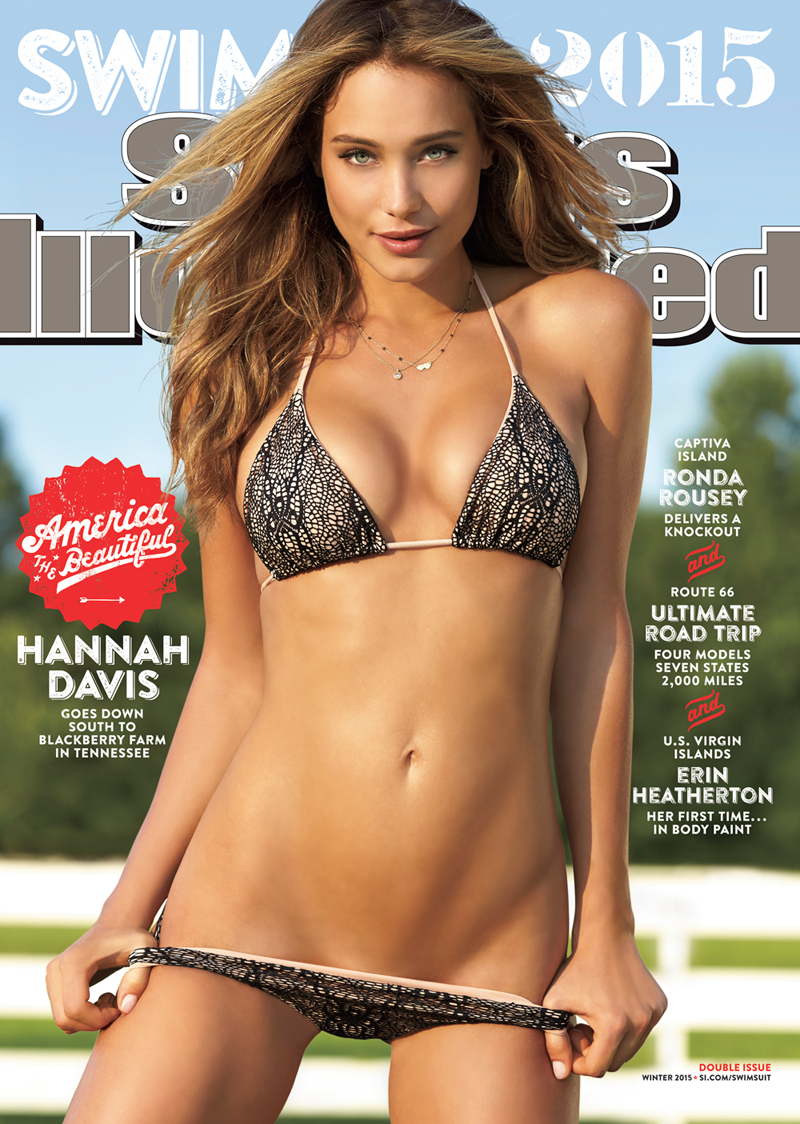 Hannah Davis Lands Cover Of The 2015 Sports Illustrated Swimsuit Issue