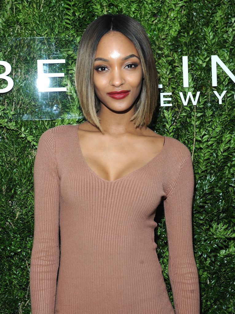 Jourdan Dunn turns heads in slinky frock at Maybelline New York event