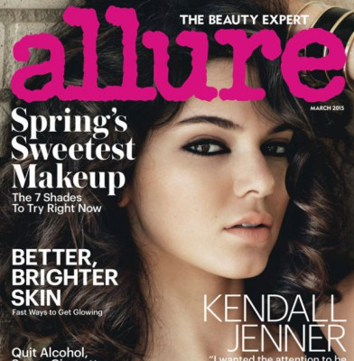 Kendall Jenner Stuns In Allure\'s March 2015 Issue