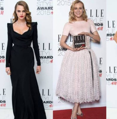 The Best Red-Carpet Looks & Roundup From The 2015 Elle Style Awards